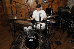 Joe Corsello Playing Drums