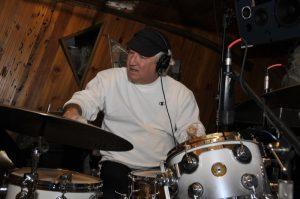 Recording at Studio