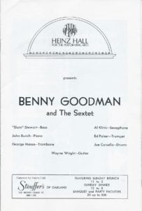 Benny Goodman and The Sextet