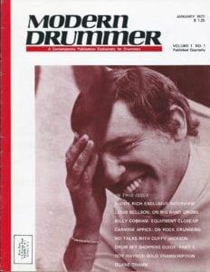Modern Drummer Cover