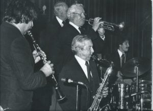 Joe Corsello with Worlds Greatest Jazz Band